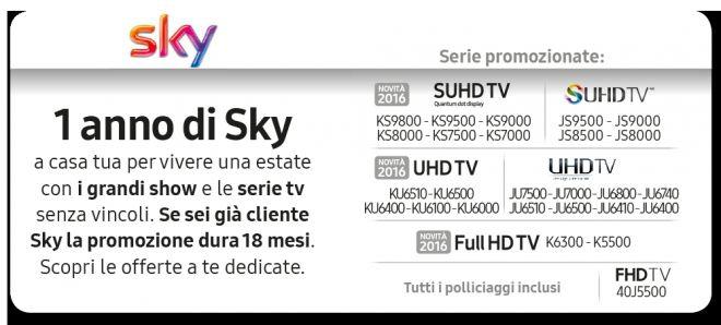Samsung TV Sky