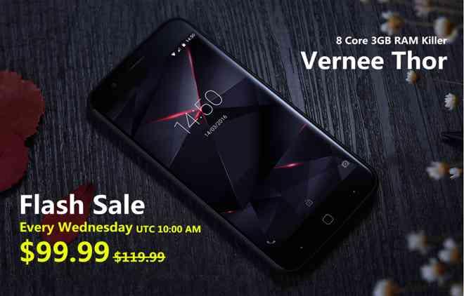 Vendita lampo: solo il mercoledì Vernee Thor a soli 99,99$