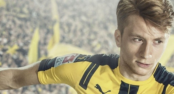 FIFA 17, sarà Marco Reus l'atleta copertina per questa edizione