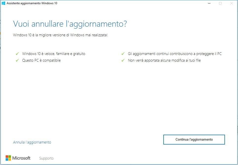 Scaricare Windows 10 Anniversary Update