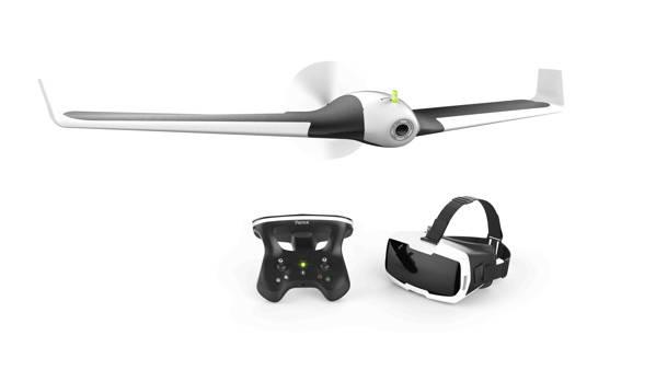 Parrot Disco, drone ad ala fissa, cam Full HD, visore FPV e 45 minuti di autonomia