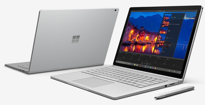 Microsoft: nuovo update per Surface 4 e Surface Book