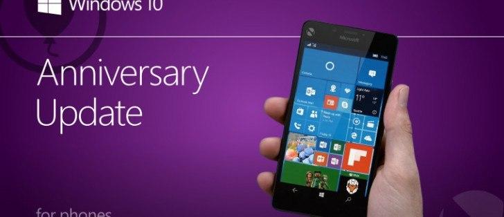 Windows 10 Mobile Anniversary Update non arriverà oggi