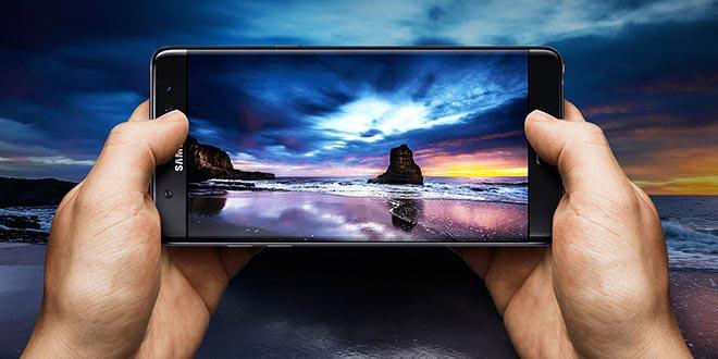 Note 7 è lo smartphone col miglior display secondo il test di DisplayMate