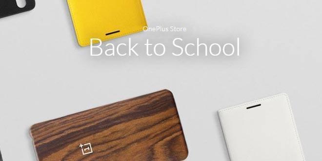 OnePlus Back to School, sconti sugli accessori per smartphone