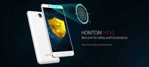 Offerta Lampo HOMTOM HT10, phablet deca-core e 4GB di RAM a soli 182€ circa