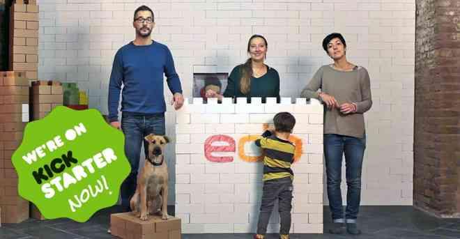 Mattoni Edo, su Kickstarter è già successo internazionale per il giocattolo italiano