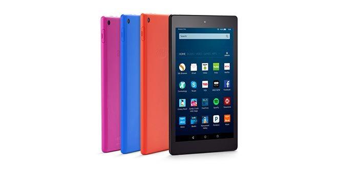 Amazon Fire HD 8: display HD, 12 ore di batteria e Alexa per sfidare iPad