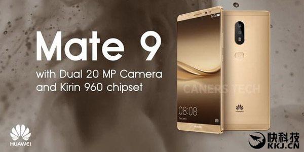 Huawei Mate 9 arriverà in tre varianti: emersi i prezzi e i tagli di memoria