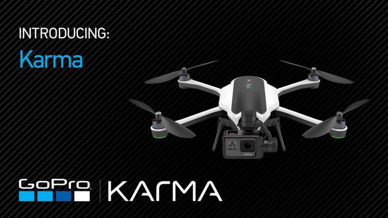 GoPro Karma, arriva il drone con bracci ripiegabili