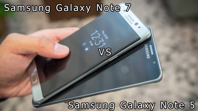 Migliori smartphone – Samsung Galaxy Note 7 vs Note 5: confronto con foto!