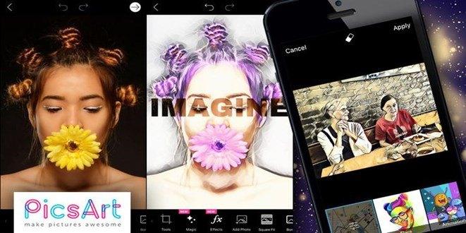 PicsArt si aggiorna con effetti foto e video in stile Prisma
