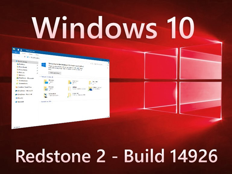 Windows 10 build 14926 IP disponibile per PC e Mobile. Tutti i dettagli