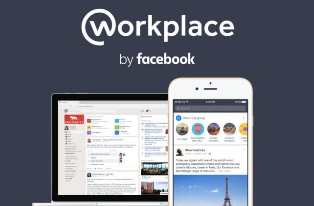 Facebook Workplace disponibile ed il lavoro diventa social