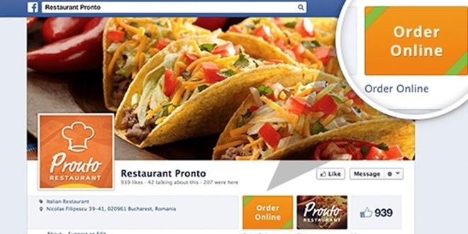 Facebook sfida Amazon e lancia un servizio di consegna del cibo a domicilio