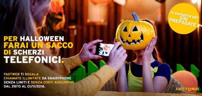 Fastweb Halloween, un'offerta… mostruosa: 4 giorni di chiamate GRATIS