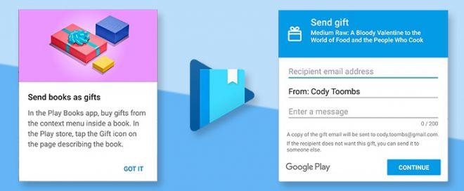 Con Google Books adesso puoi regalare anche i libri
