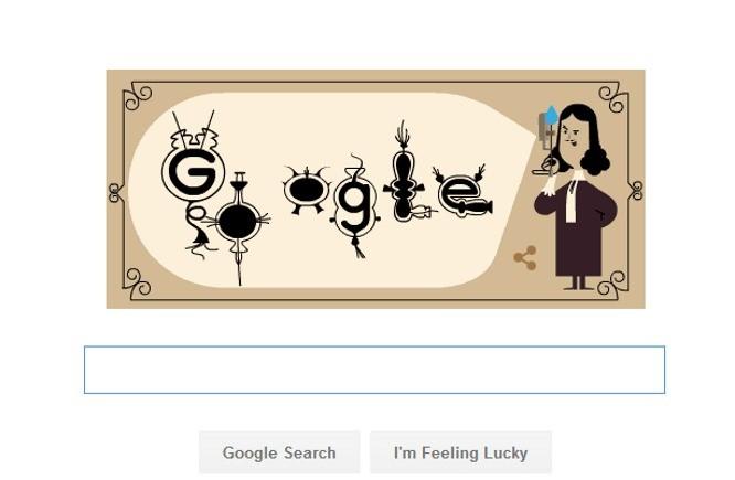 Con un doodle Google ricorda il 348° anniversario della nascita di Antoni van Leeuwenhoek