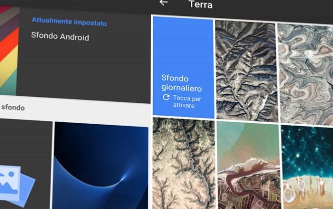 Google lancia la App Sfondi per tutti i dispositivi Android