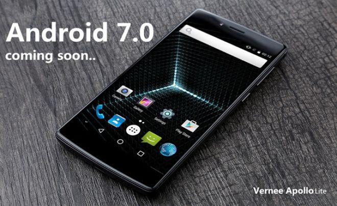 Vernee Apollo Lite riceverà Android N a Dicembre: le novità