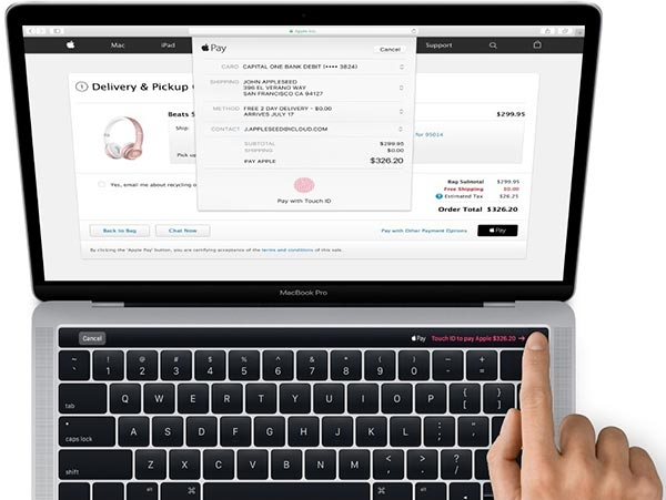 I pannelli OLED dei nuovi MacBook Pro sono realizzati da Samsung