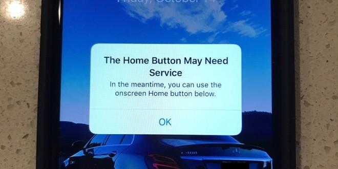 iPhone 7, tasto Home guasto? iOS ne crea uno virtuale