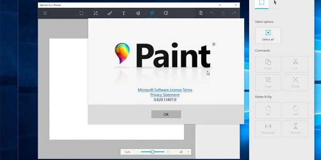 Microsoft Paint, in arrivo tante novità su Windows 10