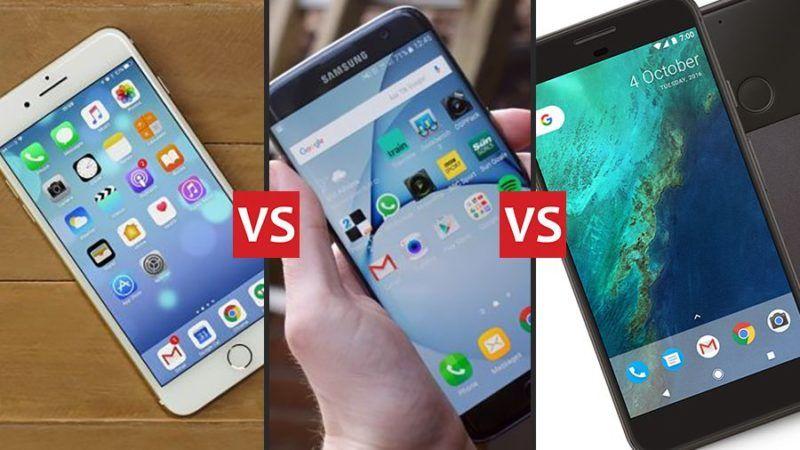 Google Pixel XL sfida iPhone 7 Plus e Galaxy S7 Edge nella durata della batteria
