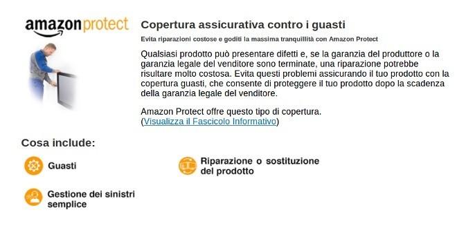 Amazon Protect, la copertura assicurativa contro furti e danni