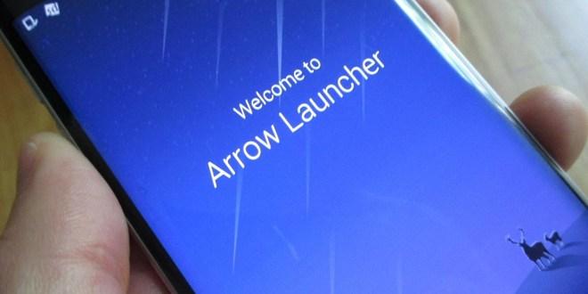 Nuovo aggiornamento Arrow Launcher, ecco le nuove schede e l'avatar del vostro account Microsoft