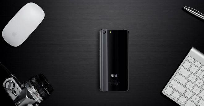 Elephone S7 Flashing Black: le nuove cornici laterali sono stupende