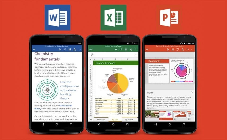 Microsoft Office si arricchisce di funzioni su Android e iOS