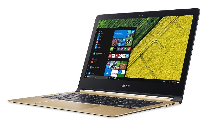 Acer Swift 7: lanciato il notebook più sottile al mondo
