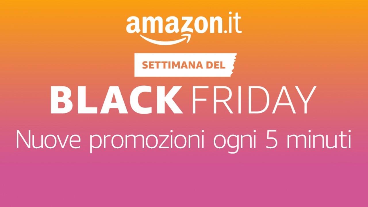 Diretta Black Friday Amazon, tutte le offerte lampo tecnologiche in tempo reale