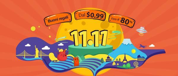 GearBest: domani 11.11 è la festa dello shopping con tante offerte