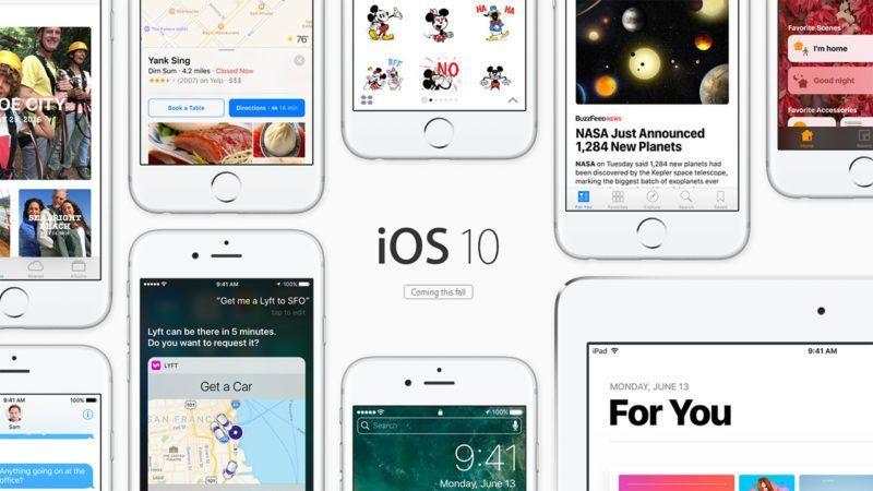 Apple rilascia iOS 10.2 beta pubblica con la nuova app TV