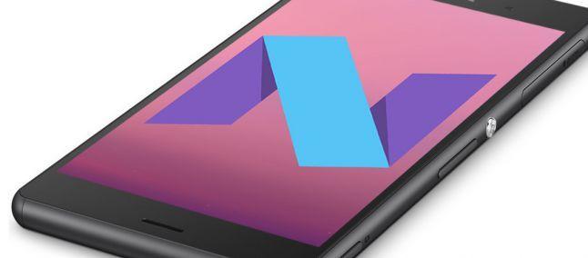 Android Nougat è ufficialmente disponibile per Sony Xperia XZ