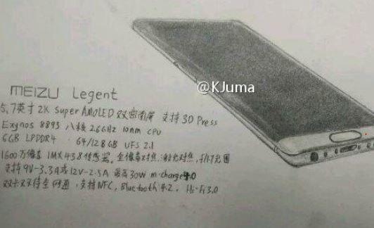 Meizu Legent: in arrivo un nuovo smartphone cinese top di gamma?