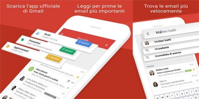 Gmail 5.0.7 disponibile ufficialmente per iOS