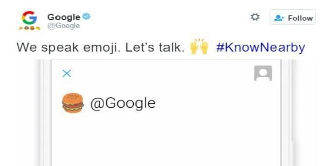 Google, per le ricerche via Twitter basteranno le emoji