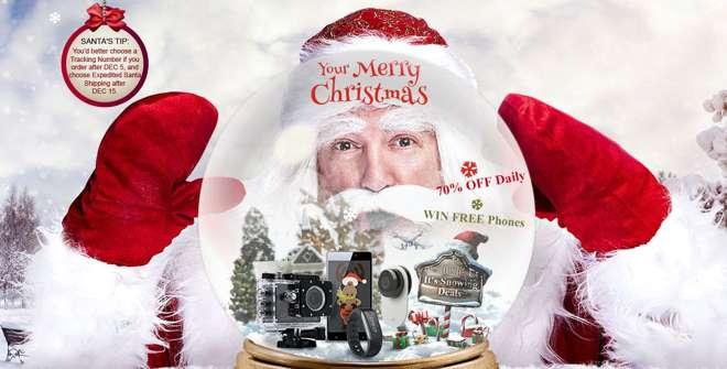 Offerte di Natale Gearbest: tanti prodotti con sconti fino al 70%