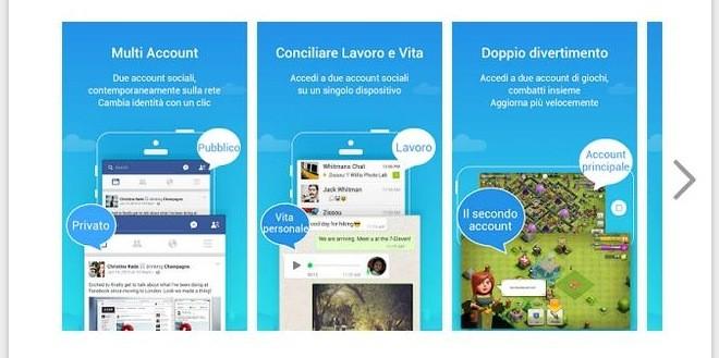 Parallel Space: da oggi si possono avere più account WhatsApp, Messenger ed altri ancora su Android