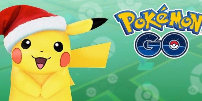 Pokémon GO, annunciato l'evento di Natale