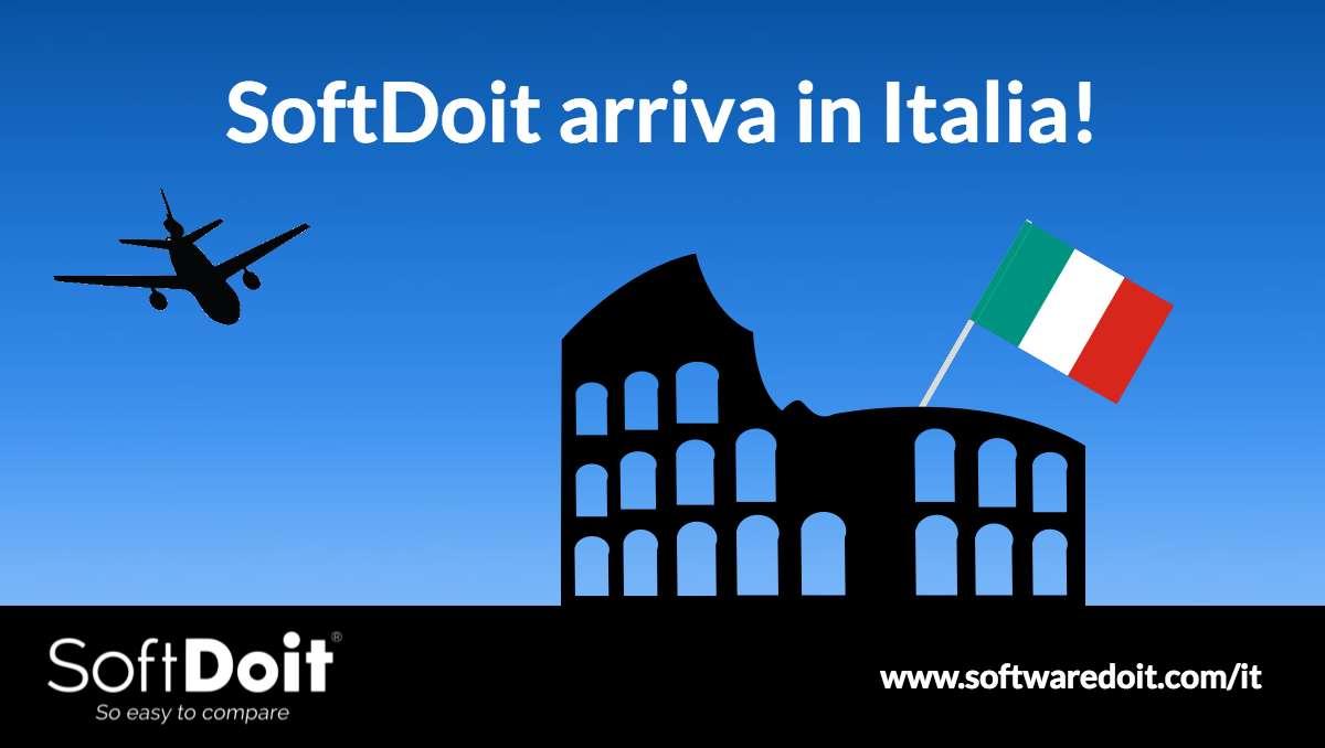 Arriva in Italia SoftDoit, il comparatore n.1 di software professionali