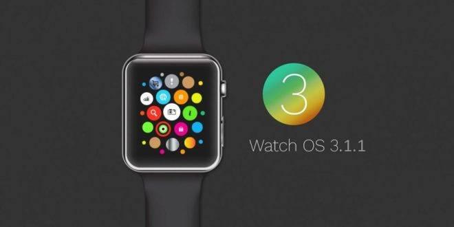 WatchOS 3.1.1 disponibile al download