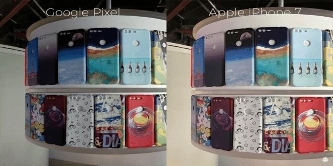 iPhone 7 vs Google Pixel: comparazione fotografica