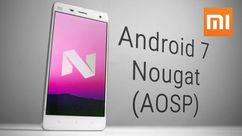 Xiaomi, ecco gli smartphone che saranno aggiornati ad Android Nougat