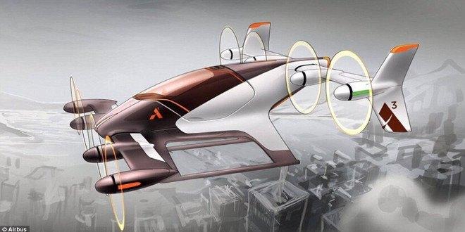 """Airbus: """"Taxi volanti entro la fine del 2017"""""""