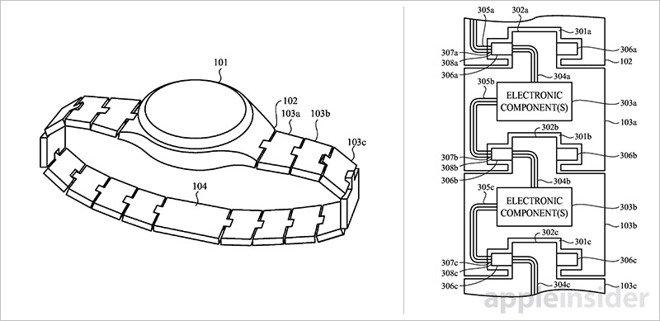 Apple Watch brevetto: in arrivo uno smartwatch modulare?