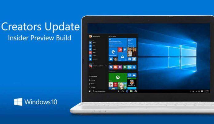 Windows 10 build 15014 per desktop e mobile disponibile per gli Insider